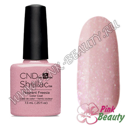 Shellac CND USA Fragrant Freesia - Flora & Fauna Collection 2015