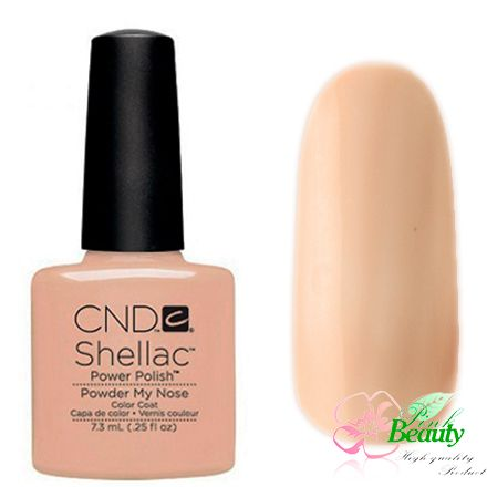Shellac CND Korea Powder My Nose - Open Road Collection 2014