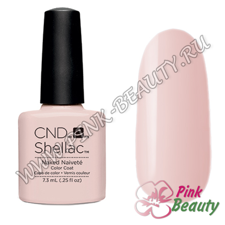 Shellac CND USA Naked Naivete - Contradictions Collection 2015