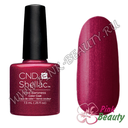 Shellac CND USA Red baroness