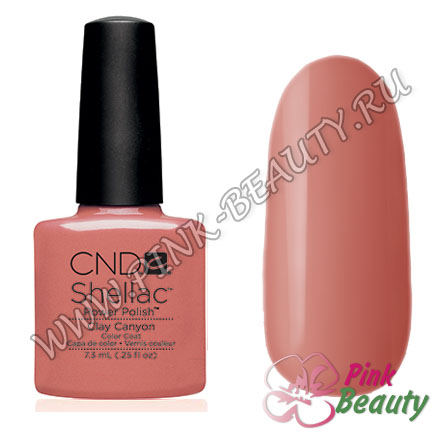 Shellac CND USA Clay Canyon - Open Road Collection 2014