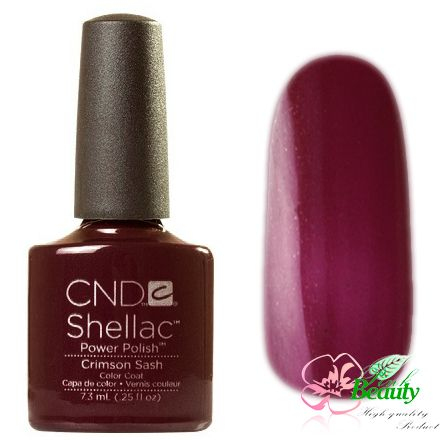 Shellac CND Korea Crimson Sash - Modern Folklore Collection 2014