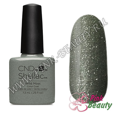Shellac CND USA Wild Moss - Flora & Fauna Collection 2015