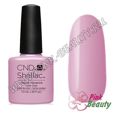 Shellac CND USA Mauve Maverick - Art Vandal Collection 2016