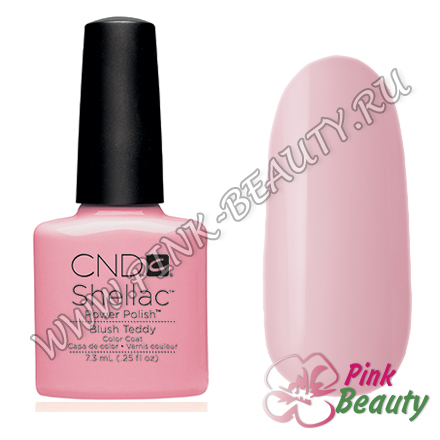 Shellac CND USA Blush Teddy
