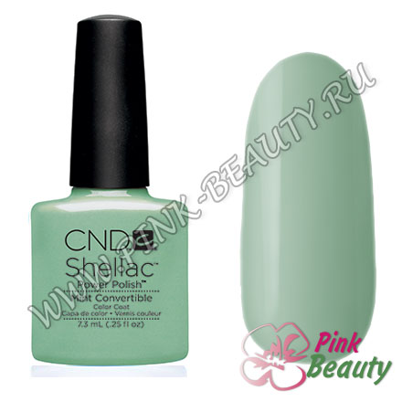 Shellac CND USA Mint Convertible - Open Road Collection 2014