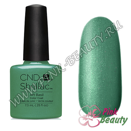 Shellac CND USA Art Basil - Art Vandal Collection 2016