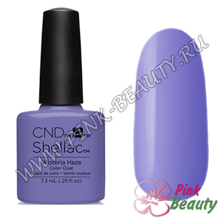 Shellac CND USA Wisteria Haze - Garden Muse Collection 2015