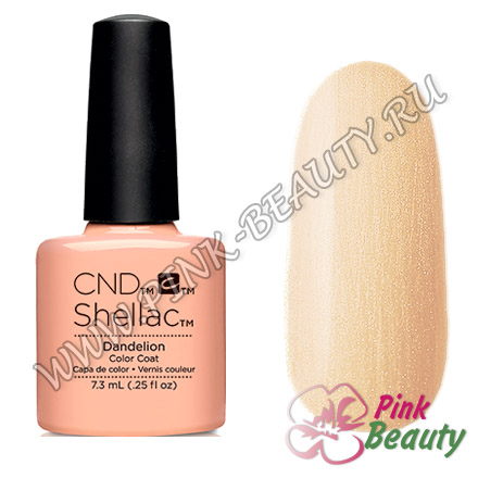 Shellac CND USA Dandelion - Flora & Fauna Collection 2015