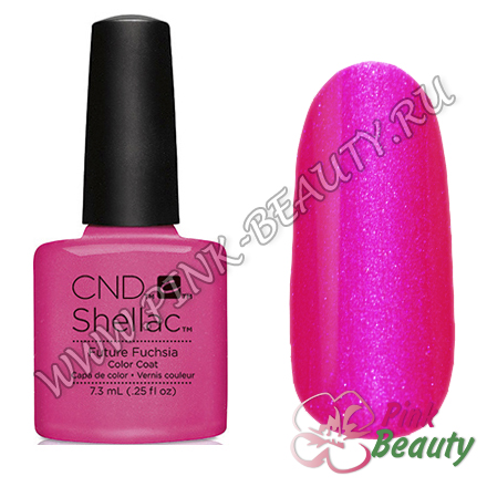 Shellac CND USA Future Fuchsia - Art Vandal Collection 2016