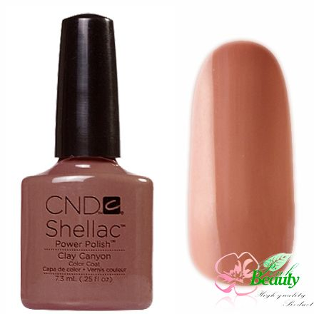 Shellac CND Korea Clay Canyon - Open Road Collection 2014