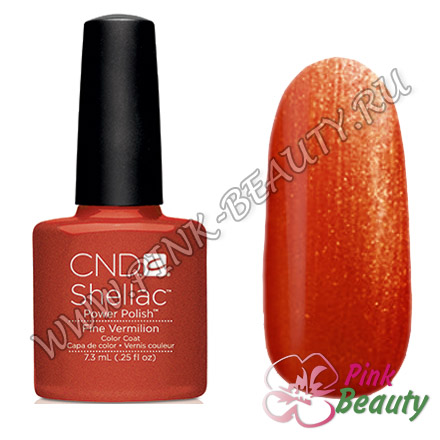 Shellac CND USA Fine Vermillion - Modern Folklore Collection 2014