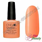 CND Shellac, Shells in the Sand - Rhythm & Heat Collection, 7,3 мл